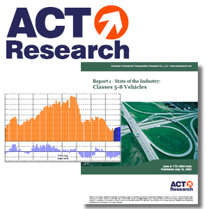 <p>Americas Commercial Transportation (ACT) Research, Co., LLC is the recognized leading publisher of commercial vehicle (CV) industry data, market analysis and forecasting services for the North American market.</p>