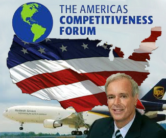 <p>The Americas Competitiveness Forum (ACF) is the most relevant event for leaders from the 34 countries in the Western Hemisphere to exchange knowledge on the issues and challenges facing the world today. <i>Pictured: Scott Davis, UPS's chairman and CEO, who spoke at the ACF in Atlanta.</i></p>