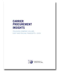 <p>For shippers, it&#8217;s important to be familiar with how transportation providers generate profits, control costs, and analyze pricing decisions. Read a white paper by Armstrong &amp; Associates where you&#8217;ll learn what effect price and volume has on shipping obligations, and what can help drive down costs for you and the carrier.</p>