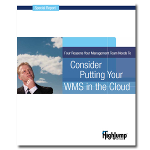 <p>Warehouse management technology is now available in an on-demand delivery model, offering a lower cost, reduced risk option. Here are four reasons your management team needs to consider putting your WMS on the cloud.</p>