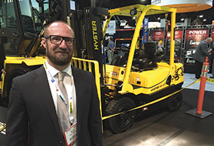 <p>Hyster (Booth 2927) unveiled a new product designed for optimal fuel efficiency, productivity and total cost of ownership.</p>