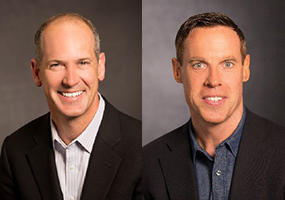 <p>John Kern (L) and John O&#8217;Connor (R) are part of the team leading the transformation of Cisco&#8217;s supply chain.</p>