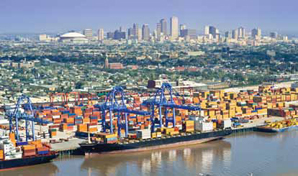 <p>Enhanced intermodal projects are underway in the Gulf port of New Orleans thanks to the U.S. DOT's popular TIGER grants program.</p>