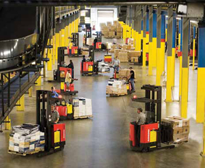 <p>Using sensors to track when a lift truck is in motion, when it is at rest, or when the forks are engaged in lifting and lowering, allows fleet managers to optimize the size of their fleets.</p>