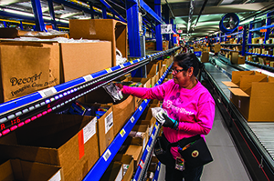 <p>Retailers and distributors are often turning to simple and easily scalable solutions, like voice- or light-enabled picking, to manage their peak demand.</p>