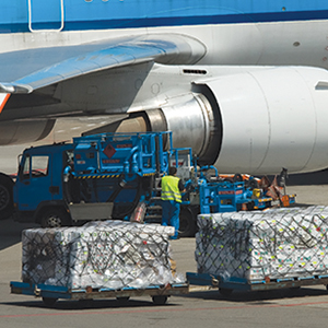 <p>More perishables, food, and consumer products—particularly during peak season—are driving up demand for air cargo space.</p>
