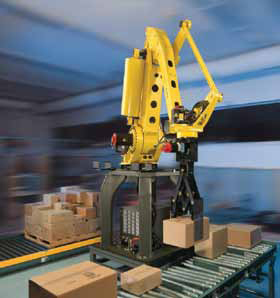 <p>The increasing demand to build mixed case pallets is one of the key drivers for stationary robotic materials handling.</p>