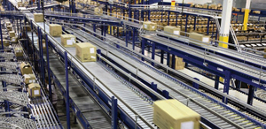 <p>GUESS' WMS automatically directs cartons to their proper destinations and tracks their status in real time.</p>