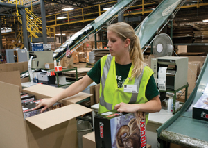 <p>Integrating the WMS and WCS systems has doubled the number of items sorted to the packing stations.</p>