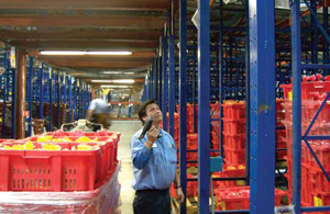 <p>Asset management systems keep track of reusable plastic containers, minimizing loss.</p>