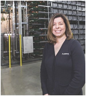 <p>Mary Grim, AcuSport&#8217;s vice president of operations</p>