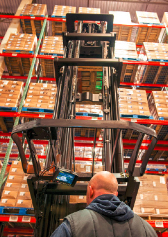 how to find rated capacity in forklift truck