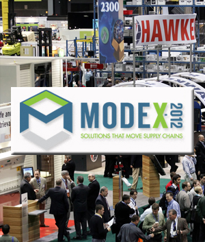 <p>MODEX 2012SM is the industry&#8217;s newest expo for the manufacturing, distribution and supply chain marketplace. MODEX 2012 will feature the best solutions and innovations the industry has to offer. By attending you will meet over 500 of the leading providers and see their solutions in person, in action.</p>
