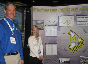<p>Eric Breen, sales manager (left) played a major role in developing the 4Sight solution; Stephanie Rogenski handles marketing and communications.</p>