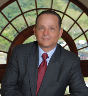 <p>Alberto Aleman Zubieta, CEO of the Panama Canal Authority</p>