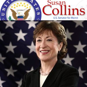<p>Maine voters first elected Susan M. Collins to represent them in the United States Senate in 1996. She was reelected in 2002 and 2008. She has earned a national reputation as a thoughtful, effective legislator, who works across party lines to seek consensus on our nation's most important issues. Senator Collins is the 15th woman in history to be elected to the Senate in her own right.</p>