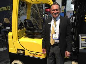 <p>David LaDue, vice president, west region, for NACCO Materials Handling Group.</p>