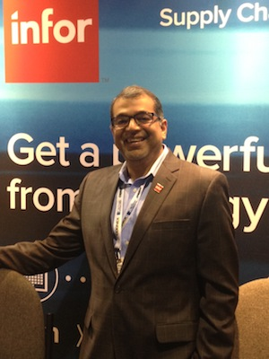 <p>Vishal Minocha, Infor's senior global project manager for Supply Chain Solutions</p>