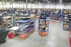 <p>Kiva Systems, maker of mobile robotic warehouse solutions, has been acquired by retail giant Amazon.com</p>