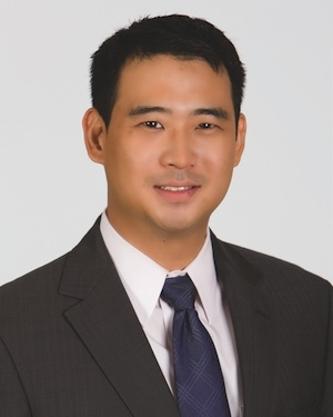 <p>Andrew Chang, director of corporate marketing for the industrial manufacturing and automotive segment of UPS</p>