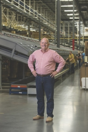 <p>Craig Hayes, vice president of fulfillment for eBay Enterprise, says the Kentucky distribution campus features very little storage because the facilities are focused on fast and flexible order fulfillment, not warehousing.</p>