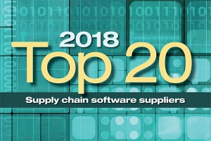 2018 Top 20 Supply Chain Software Suppliers
