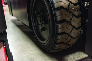 Have you checked your Lift Truck tires enough lately?