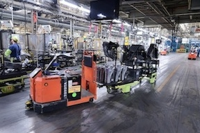 <p>At a recent press event, Toyota Material Handling USA (TMHU) showcased its latest contributions to the automatic guided vehicle market.</p>