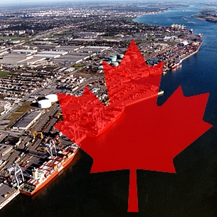 <p>The Port of Montreal, is a port located in Montreal, Canada&#8217;s second largest metropolis, on the St Lawrence river. It is one of the busiest ports on the North American continent, and the largest inland port on Earth. It is also the entry point to other major cities such as Toronto, Detroit  and Cleveland.</p>
