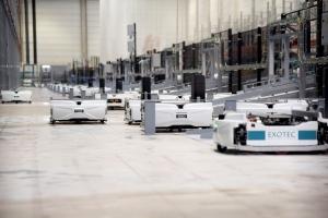 GEODIS与AHS合作,实施Exotec机器人解决方案,优化电子商务实现