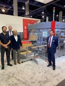 SOMIC和戈雅食品宣布包装机械协议在包装博览会拉斯维加斯