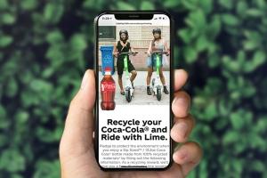 可口可乐®通过石灰伙伴关系提供免费乘车,鼓励回收