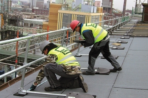 KeeGuard rooftop railing systems