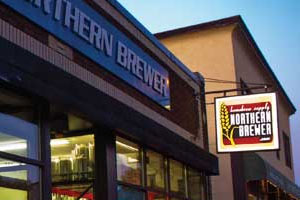 <p>Northern Brewer uses an overhead delivery system for on-demand, de-centralized distribution of inflatable packaging.</p>