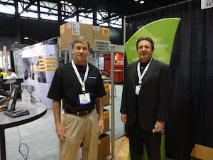 <p>Paul Heniff, Senior Account Manager (left), and Phil Pease, Regional VP of Sales</p>