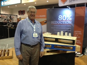 <p>Wayne Randall, president, United Pallet Services.</p>