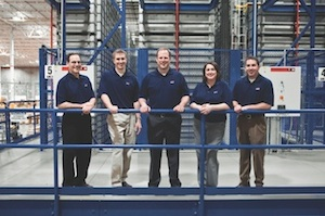 <p>The new 350,000-square-foot service parts distribution center was designed together with a consultant (i+o Industry Planning + Organization, <a href=
