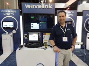 <p>Rob DeStefano, Wavelink Product Marketing Manager</p>