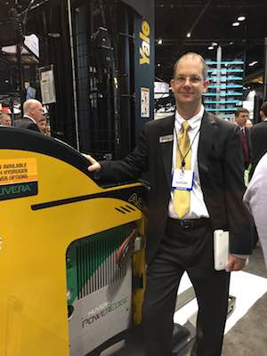 <p>David McNeill, manager of product strategy for Yale Materials Handling Corporation.</p>