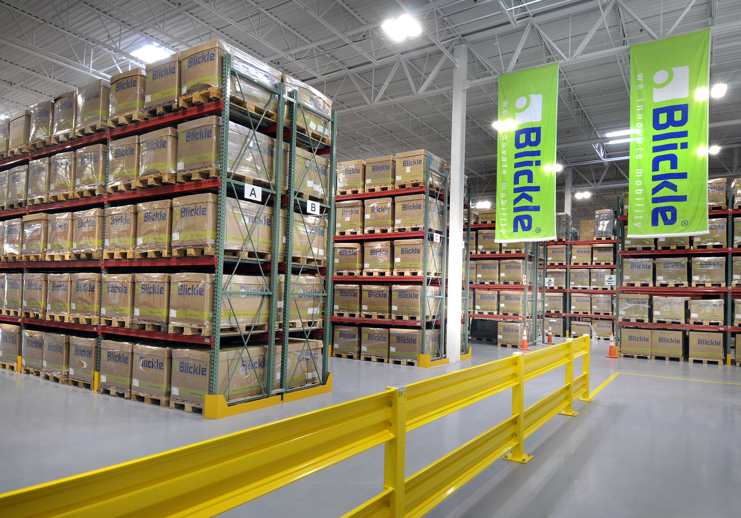 <p>To better serve the North American market, Blickle U.S.A. has taken occupancy of a new 62,491 square foot multi-million-dollar facility located in Newnan, Ga.</p>