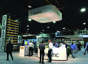<p>Dematic Reddwerks (Booth 737) RaceTrack, a piece-picking solution using a zone-free, pick-to-light workflow.</p>