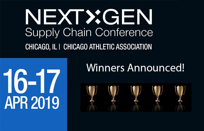 < p >获奖者将在即将到来的次世代奖供应链会议在芝加哥4月。< / p >