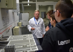 Lenze Americas hosts STEM career day for local students