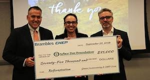 Arbor Day Foundation partners with CHEP for international reforestation projects