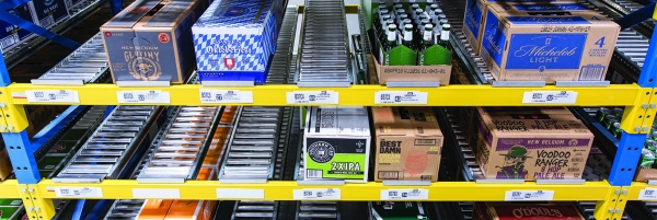 Warehouse System Report: A.B. Beverage Racks Up Productivity