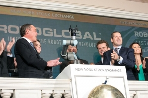 Cobot rings bell at New York Stock Exchange
