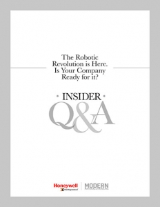 Insider Q&A: The Robotics Revolution is here. Is your company ready for it?