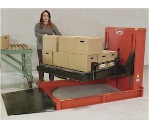 通过将P4滚放式矫直机与转台的平台定位在正确的高度,员工可以更快地装卸和减少疲劳