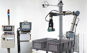 <p> rightthand Robotics正在展示RightPick 3,它的数据驱动智能拣件平台