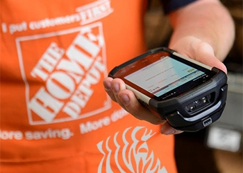 Home Depot's Custom Smartphone Does Inventory & Mobile Point